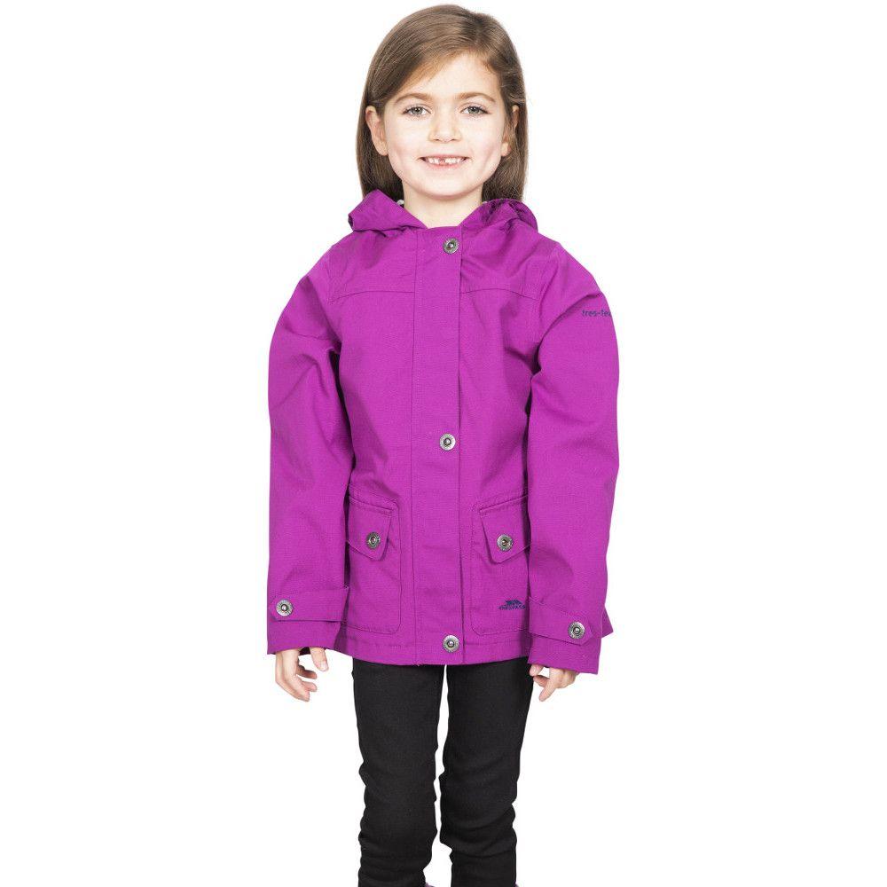 Trespass Girls Seastream Hooded Coat Jacket