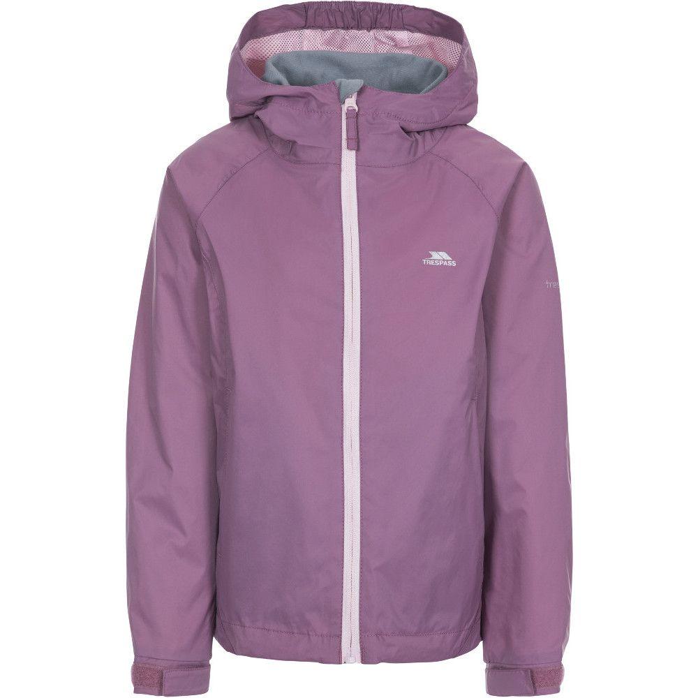 Trespass Girls Impressed Waterproof Breathable Coat Jacket