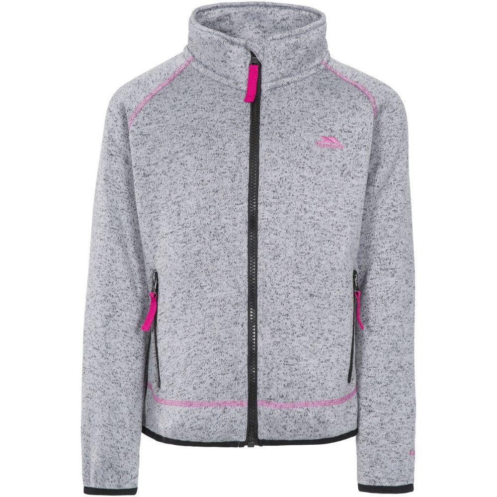 Trespass Girls Thankful Full Zip Airtrap Fleece Jacket