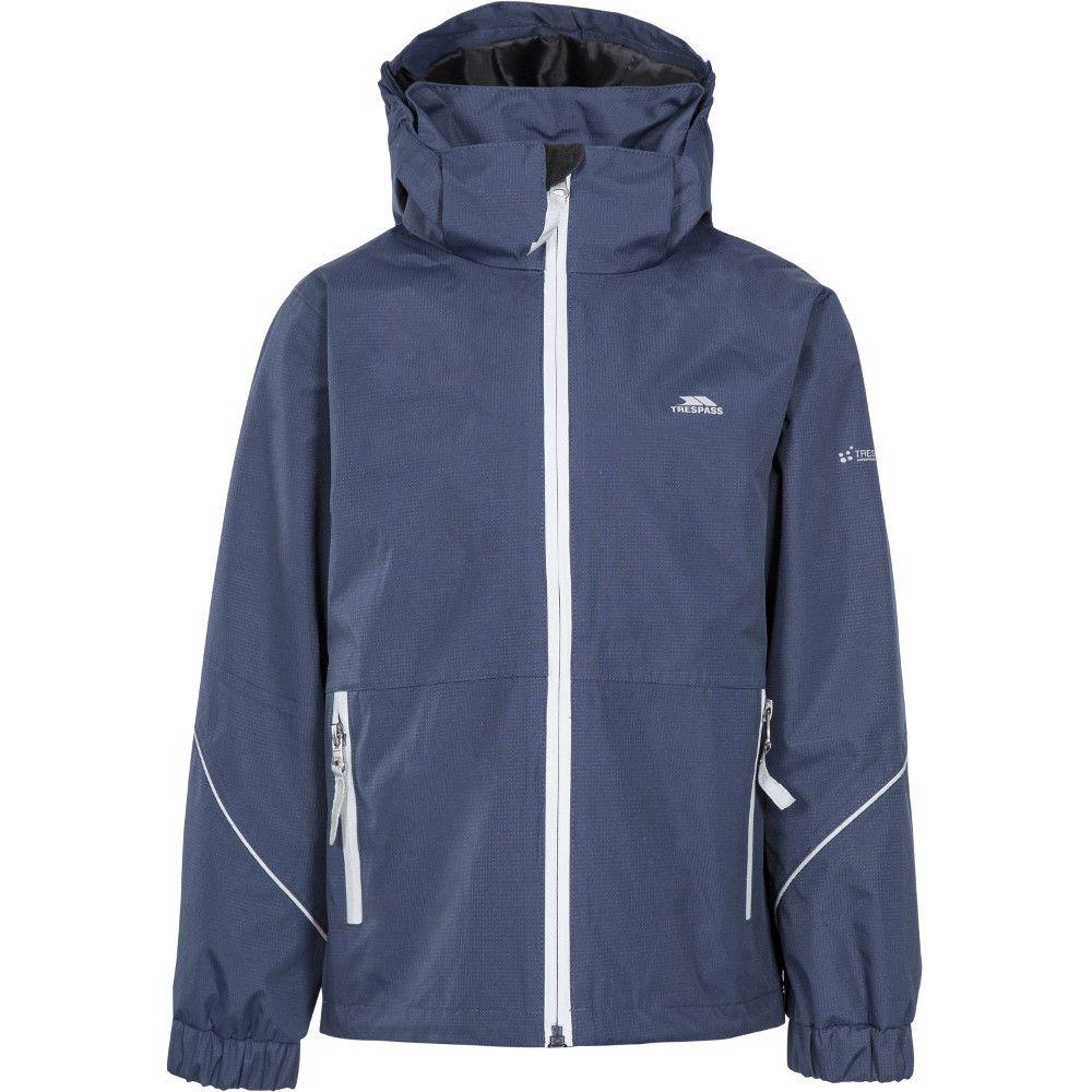 Trespass Boys Rapt Windproof Waterproof Hooded Jacket