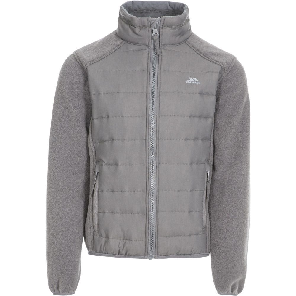 Trespass Boys Ludvig Padded Fleece Jacket