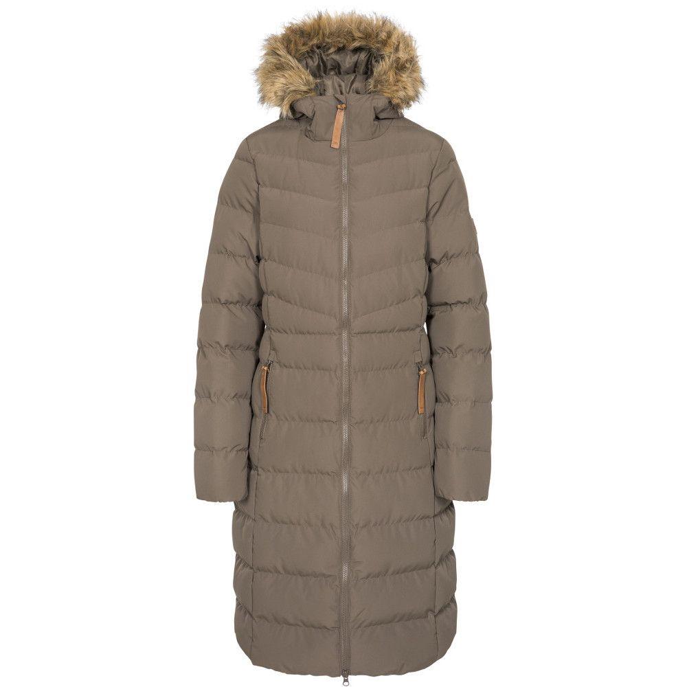 Trespass Womens Audrey Padded Longer Length Jacket Coat