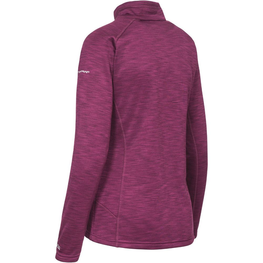 Trespass Ladies Fairford Half Zip Mid Weight Fleece Top