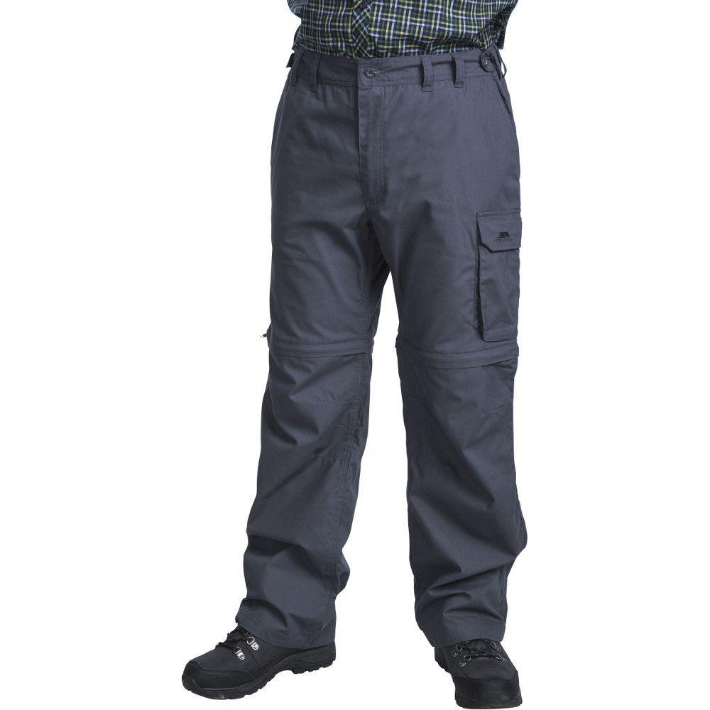 Trespass Mens Mallik Convertible Cargo Walking Trousers