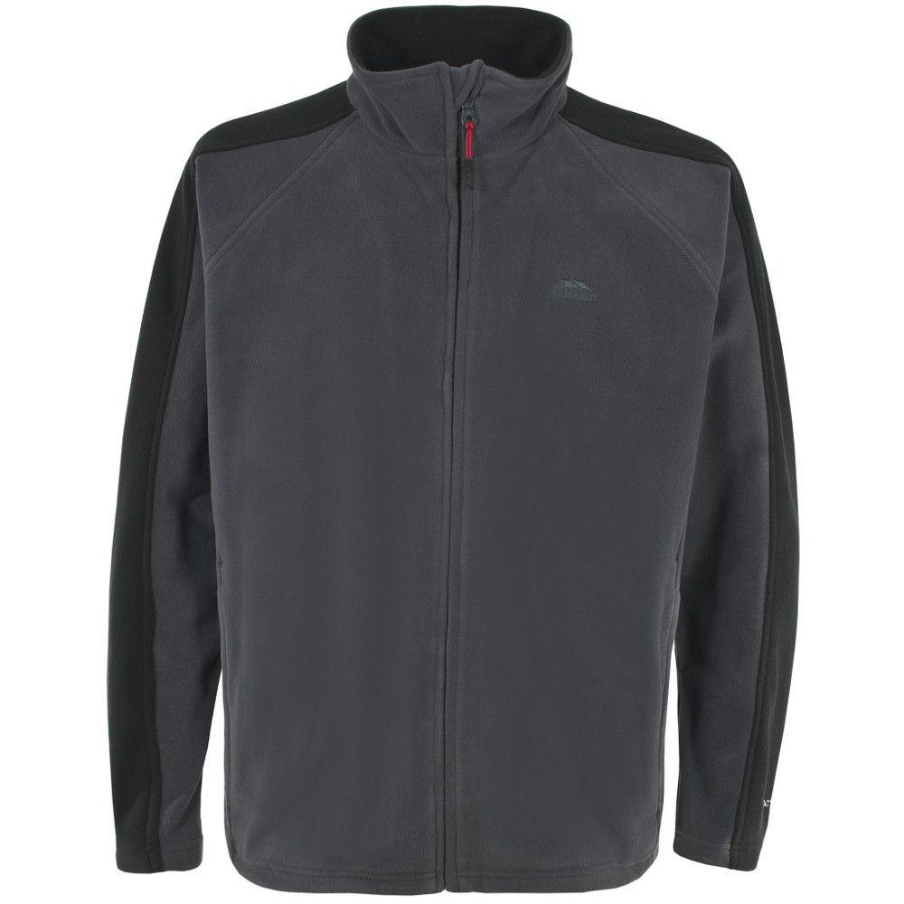 Trespass Mens Acres Warm Full Zip Sueded Fleece Jacket
