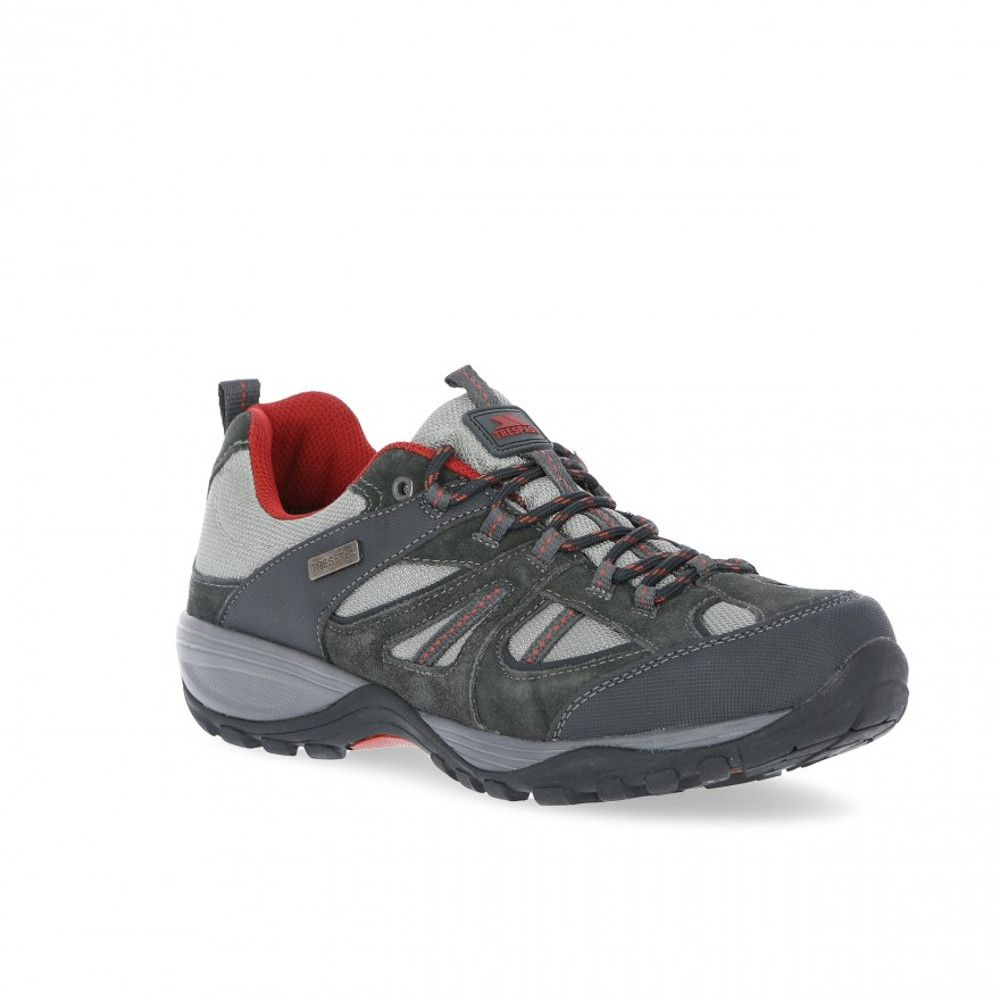 Trespass Mens Benjamin Waterproof Breathable Walking Shoes