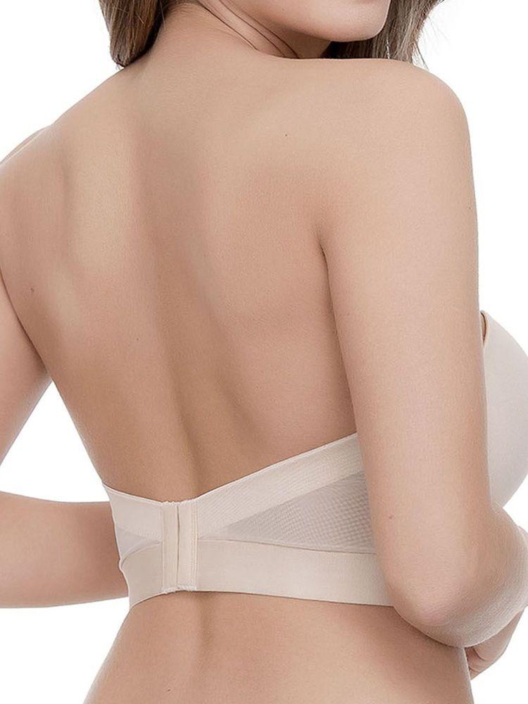Low Back Fuller Bust Strapless Bra