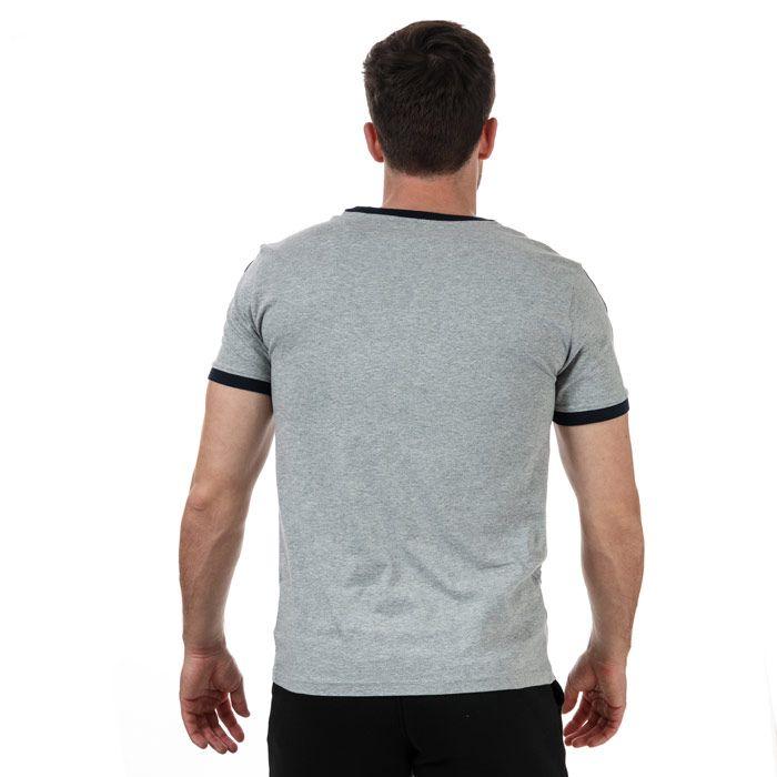 Tommy Hilfiger Men's Rn T-Shirt Grey Sin Grey
