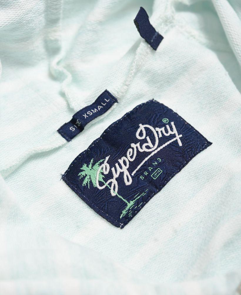 Superdry Pastel Palm Crop Hoodie