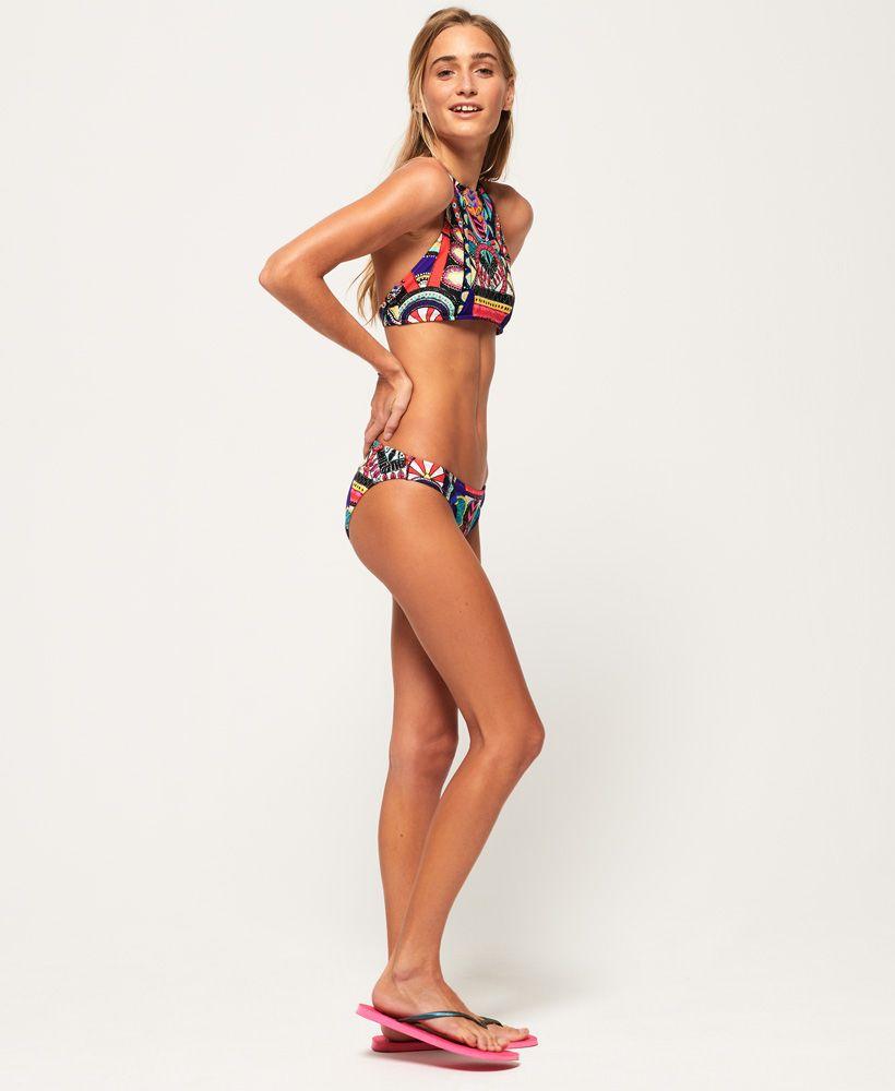 Superdry Neon Tribal Bikini Top
