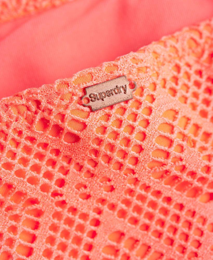 Superdry Diamond Lace Bikini Bottoms