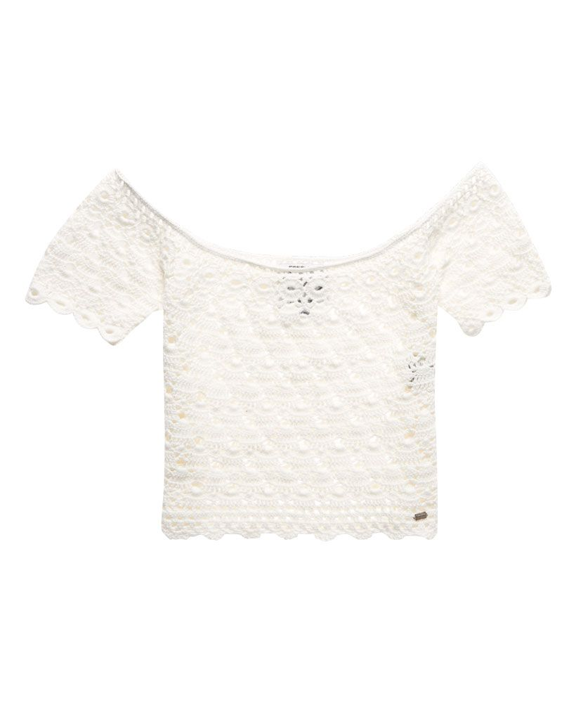 Superdry Prairie Daze Crochet Top
