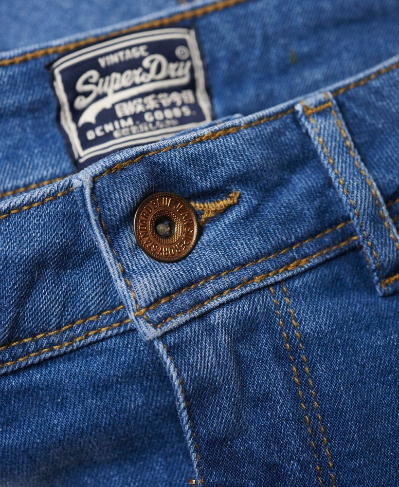 Superdry Patches Denim Hot Shorts