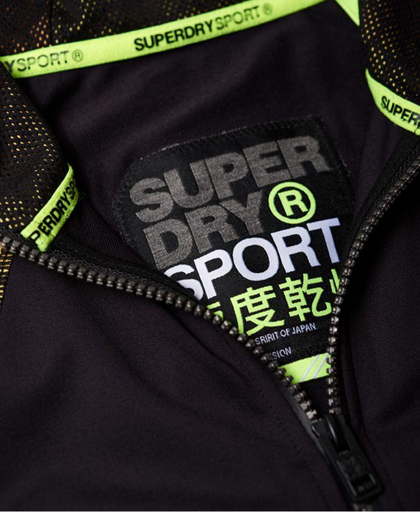Superdry Training Gradient Zip Hoodie
