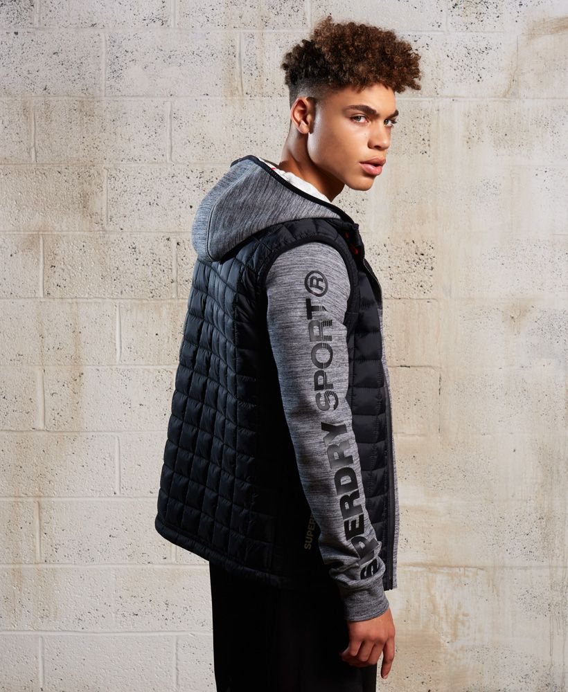 Superdry Gym Tech Hybrid Jacket