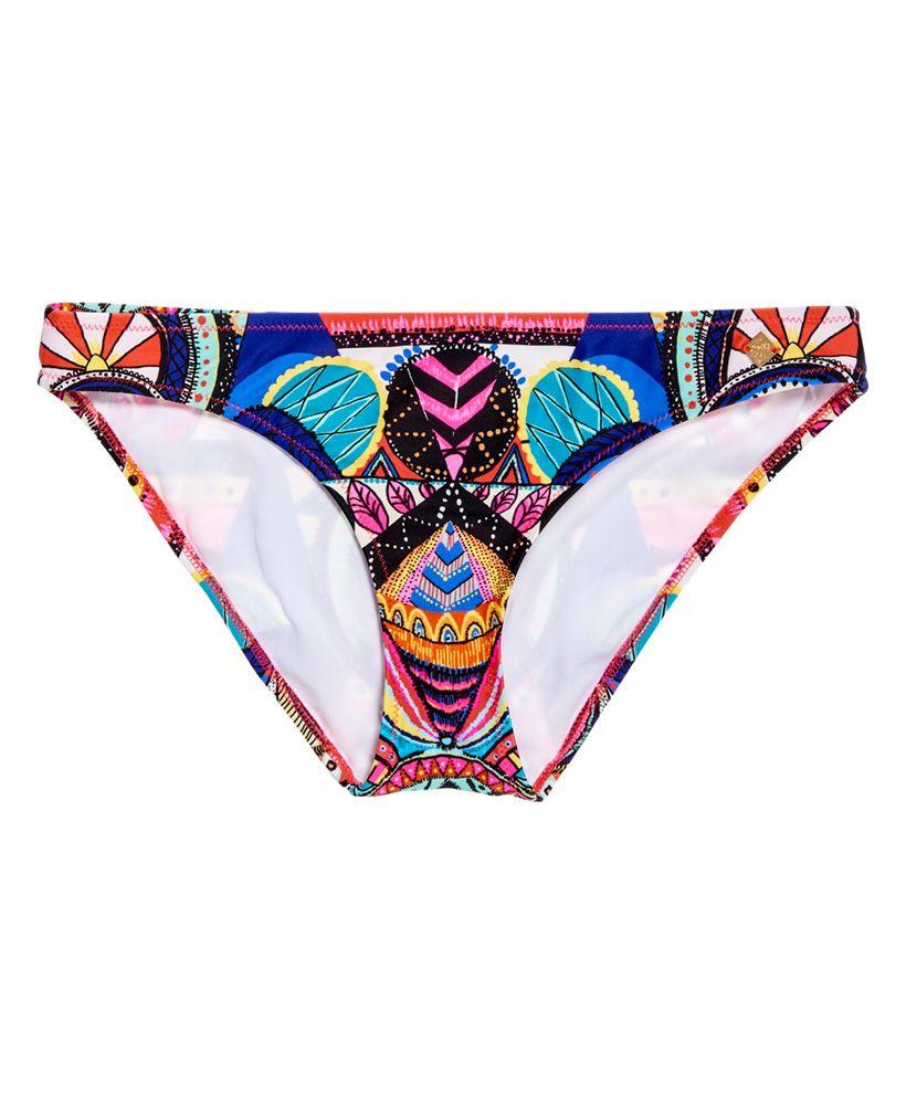 Superdry Neon Tribal Bikini Bottom