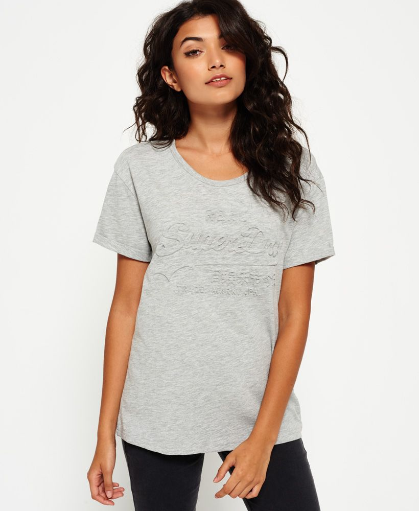 Superdry Vintage Logo Slim Boyfriend T-Shirt