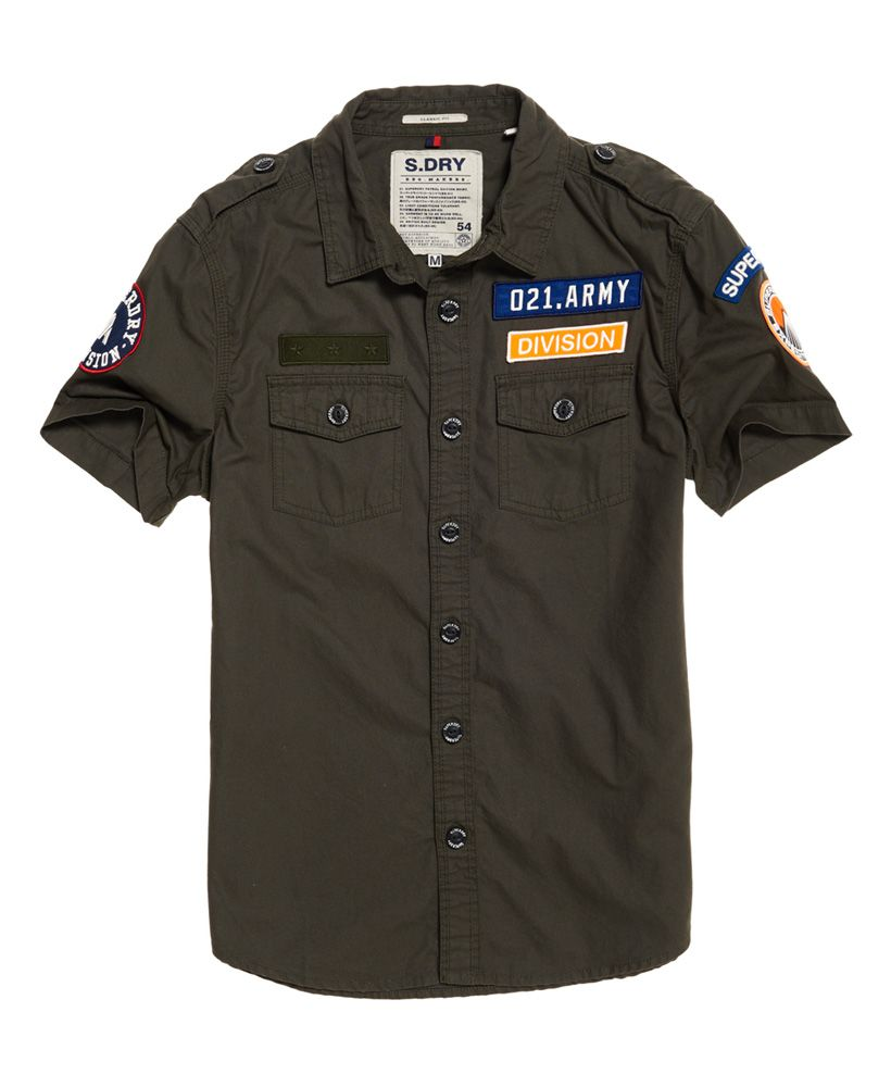 Superdry Army Corps Lite Short Sleeve Shirt
