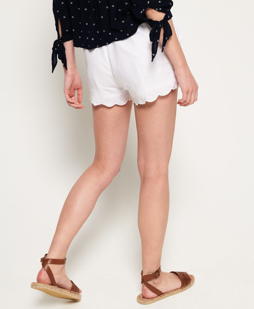 Superdry Jenna Embroidered Edge Shorts