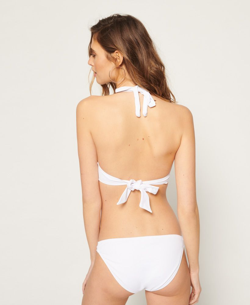 Superdry Picot Textured Cup Bikini Top