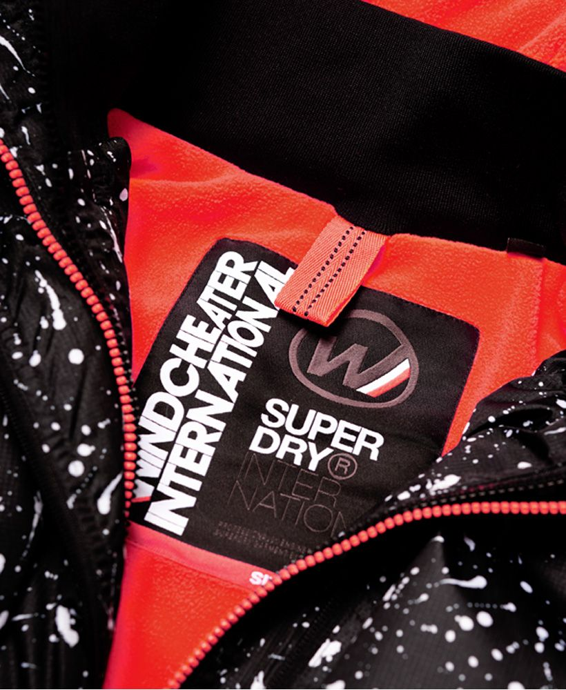 Superdry Print Arctic Hooded Pop Zip SD-Windcheater Jacket