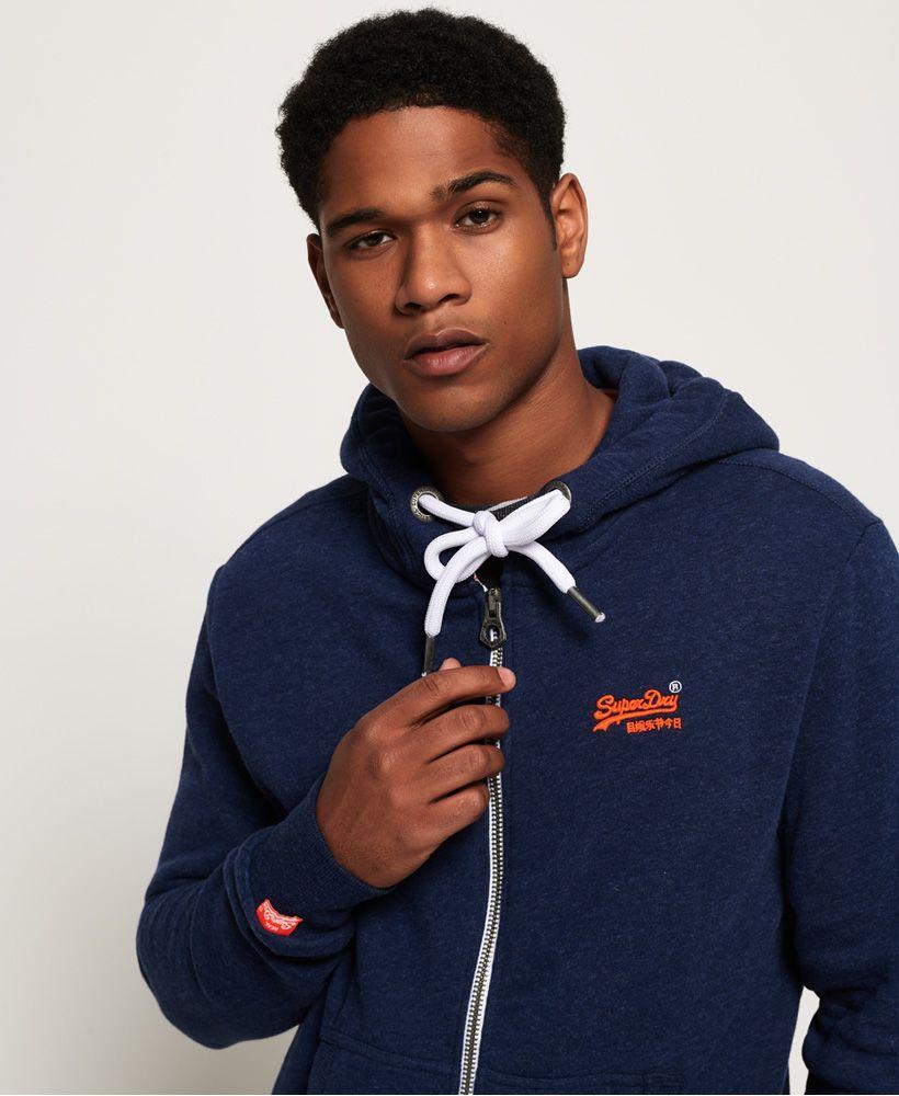 Superdry Orange Label Zip Hoodie