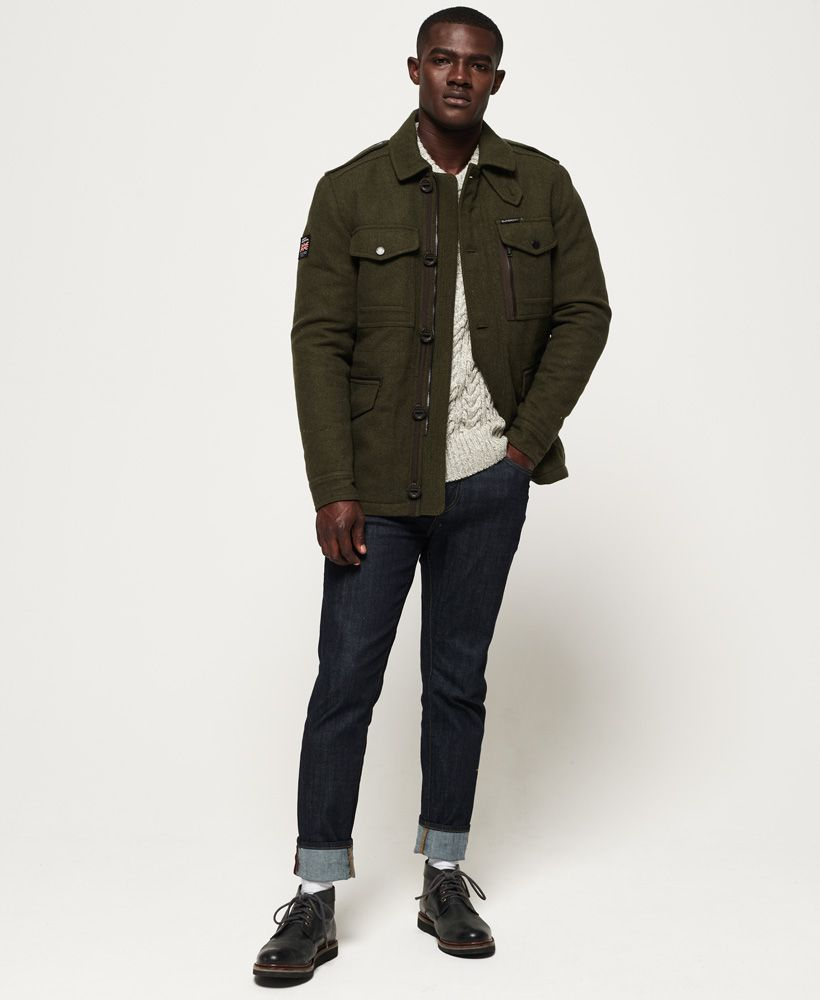 Superdry Tito Four Pocket Wool Jacket