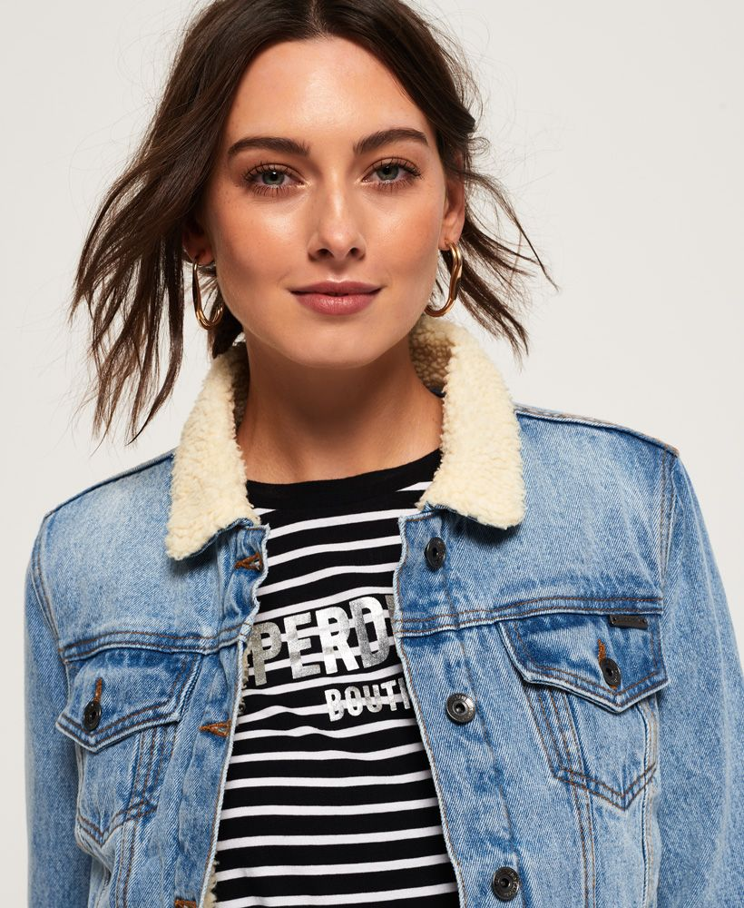 Superdry Borg Girlfriend Jacket