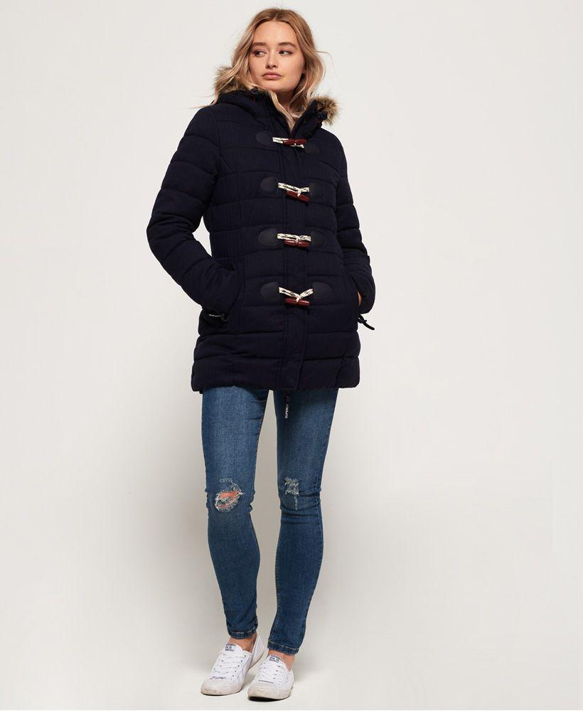 Superdry Tall Marl Toggle Puffle Jacket