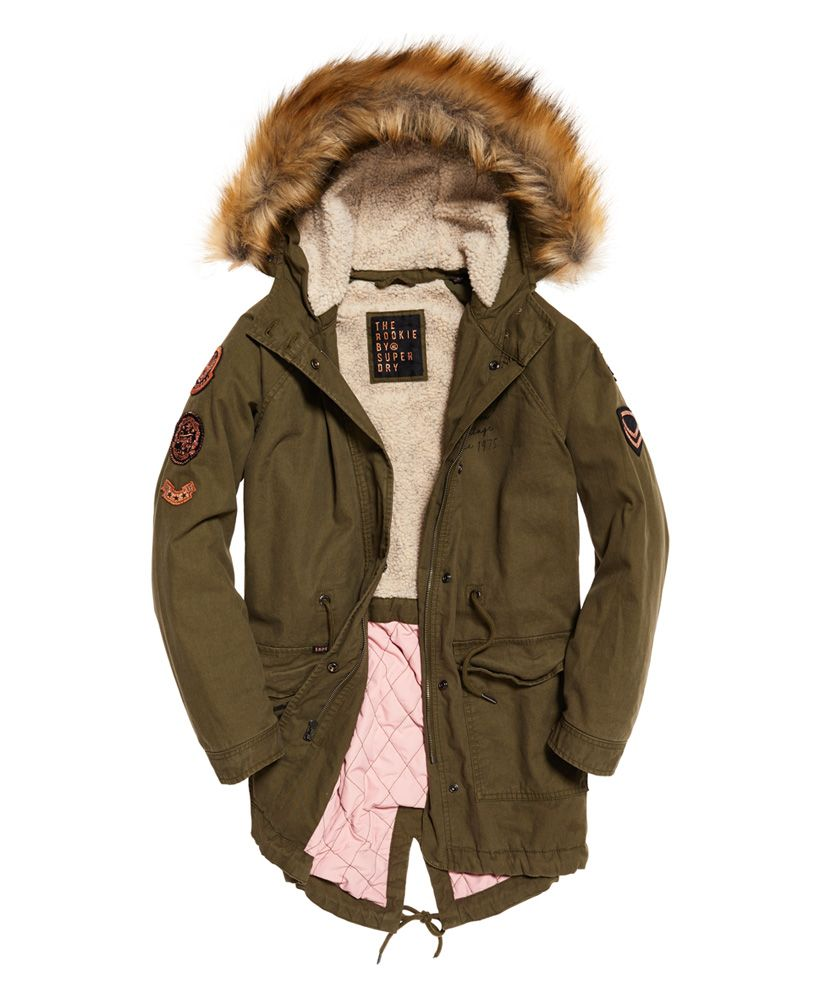 Superdry Rookie Heavy Weather Tiger Parka Jacket