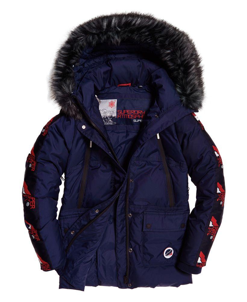 Superdry Canadian Mountain Range Down Parka Jacket