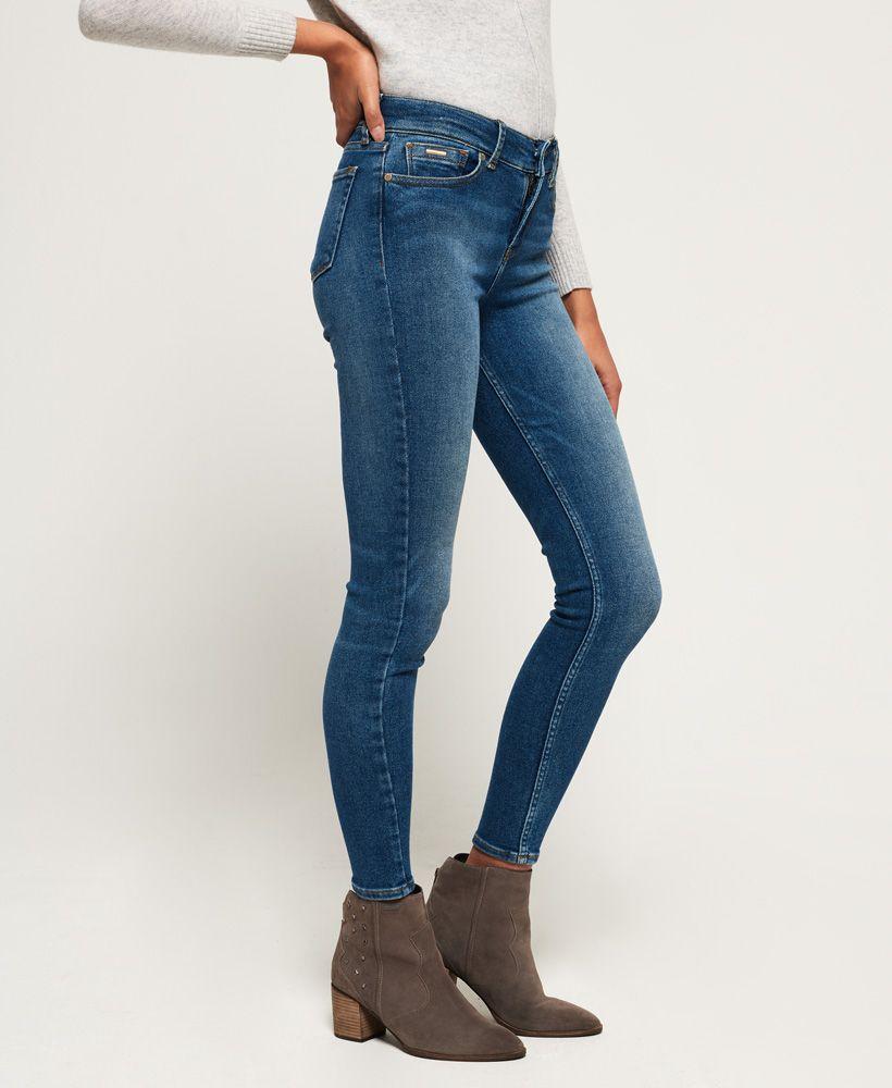 Superdry Super Vintage Skinny Mid Rise Jeans