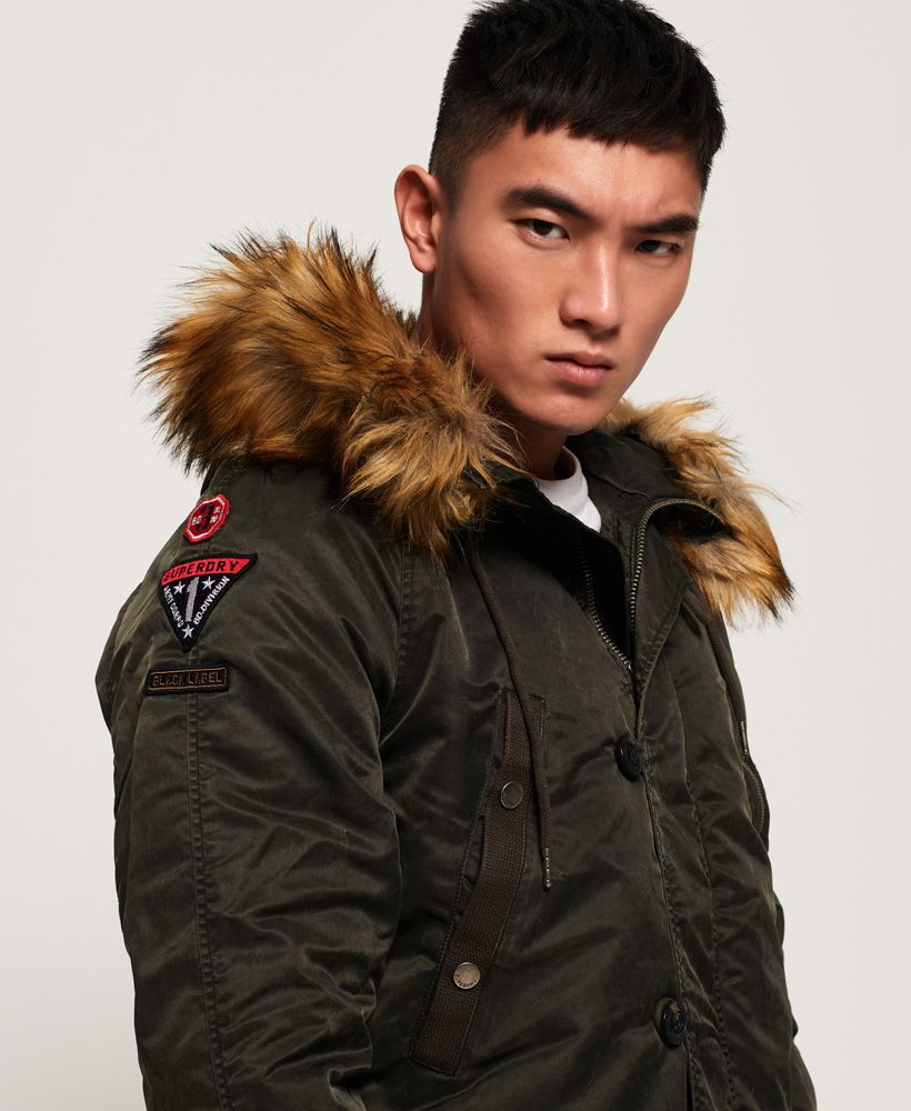 Superdry Comando Heavy Parka Jacket