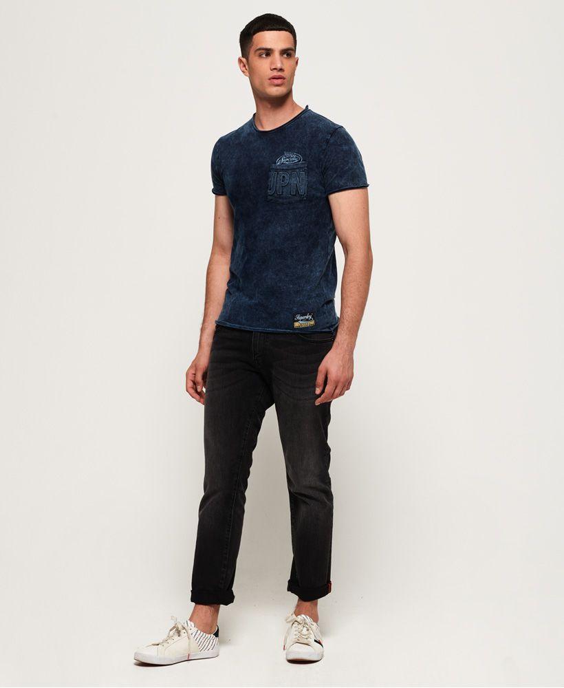 Superdry Worn Well Indigo T-Shirt