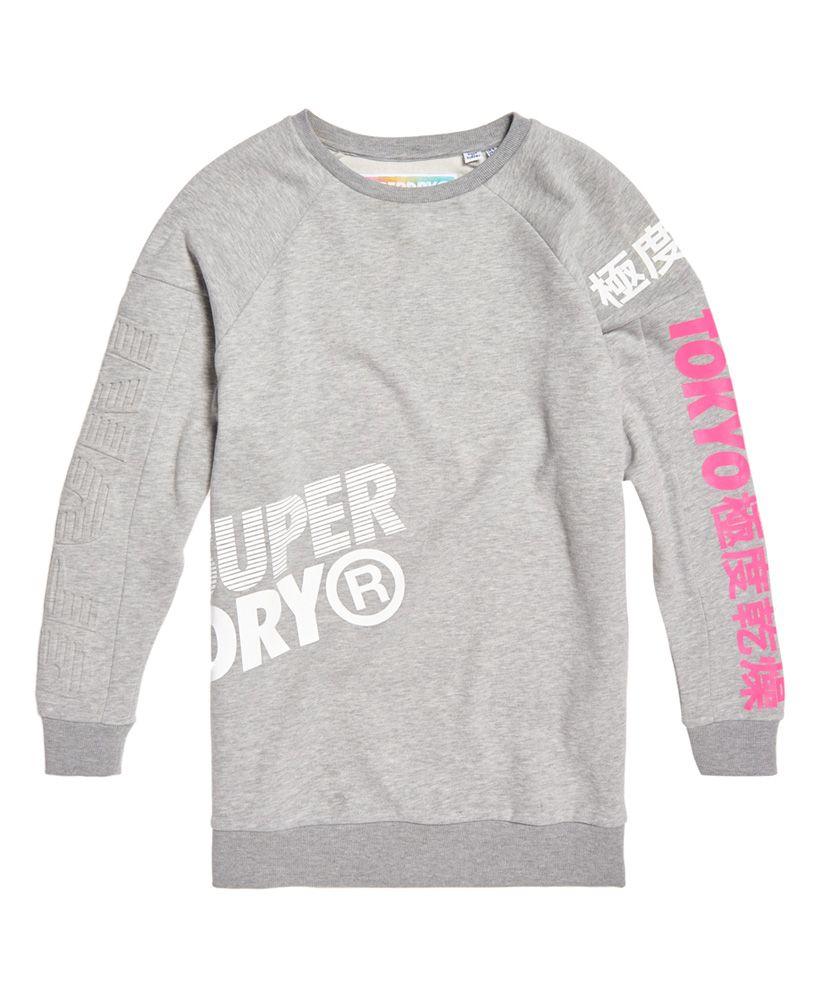 Superdry Japan Edition Oversized Sweat Dress