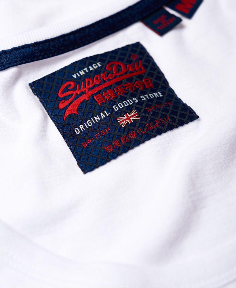 Superdry Vintage Logo Mid Weight Vest