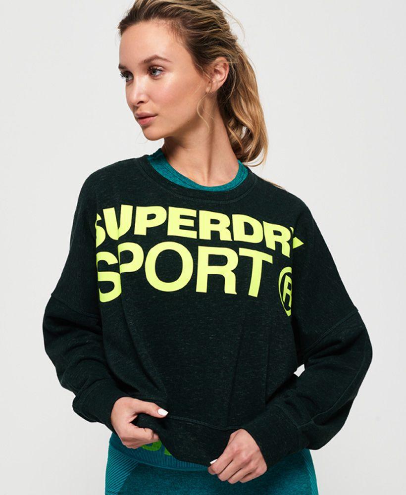 Superdry Active Batwing Crop Sweatshirt