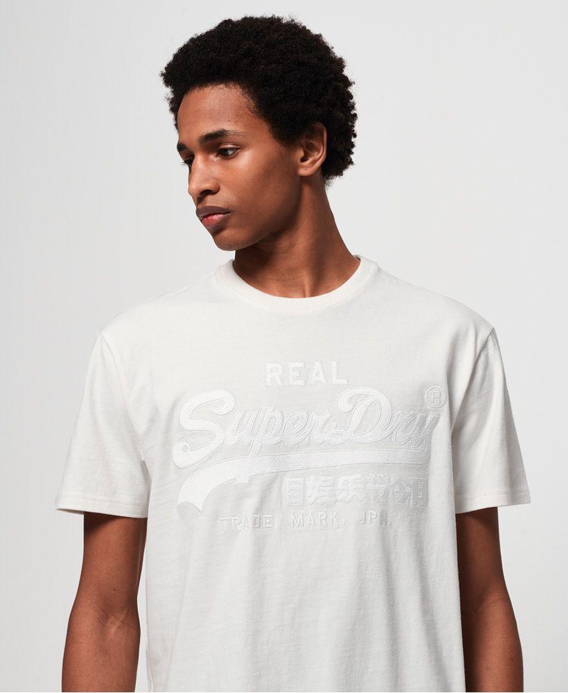 Superdry Vintage Logo Box Fit Applique T-Shirt