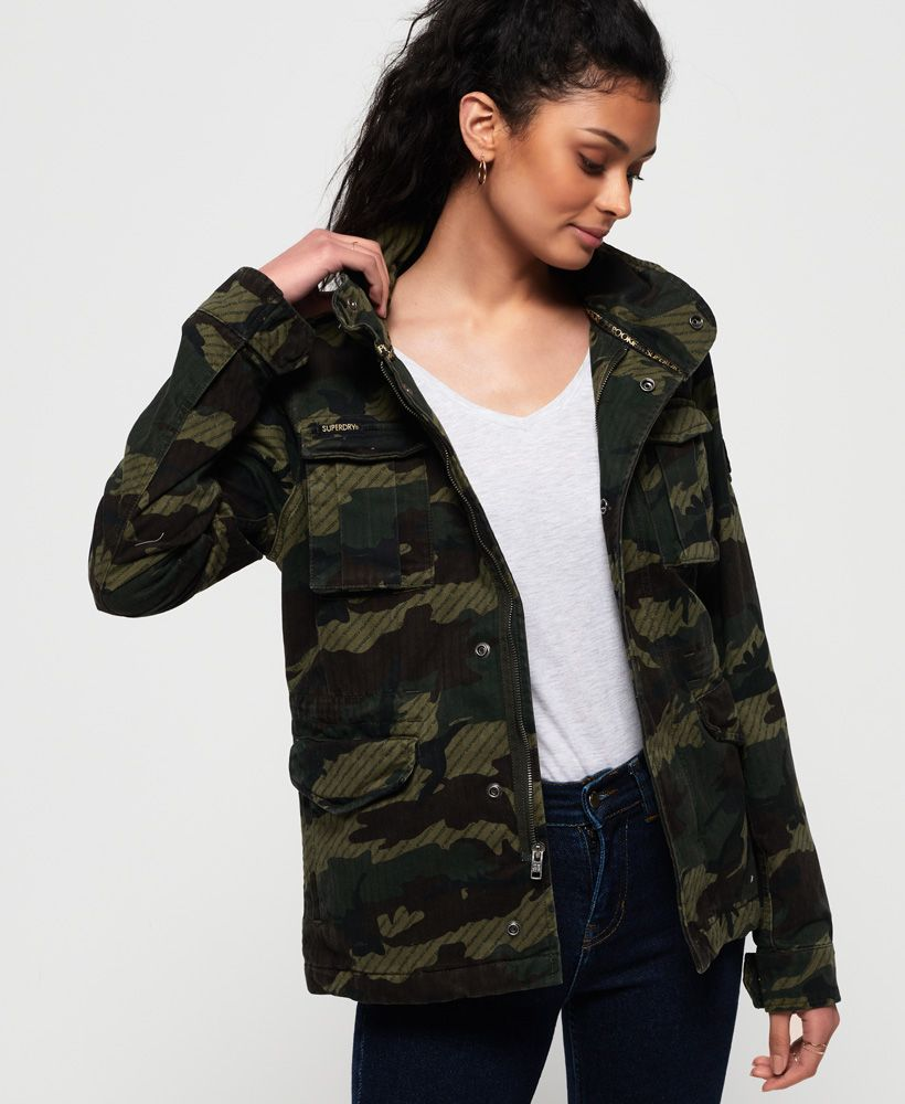 Superdry Jade Rookie Pocket Jacket