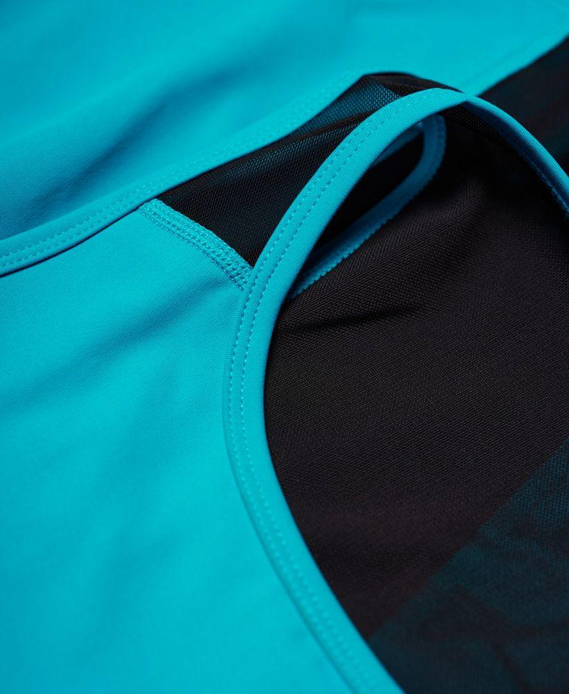 Superdry Active Mesh Panel Vest Top