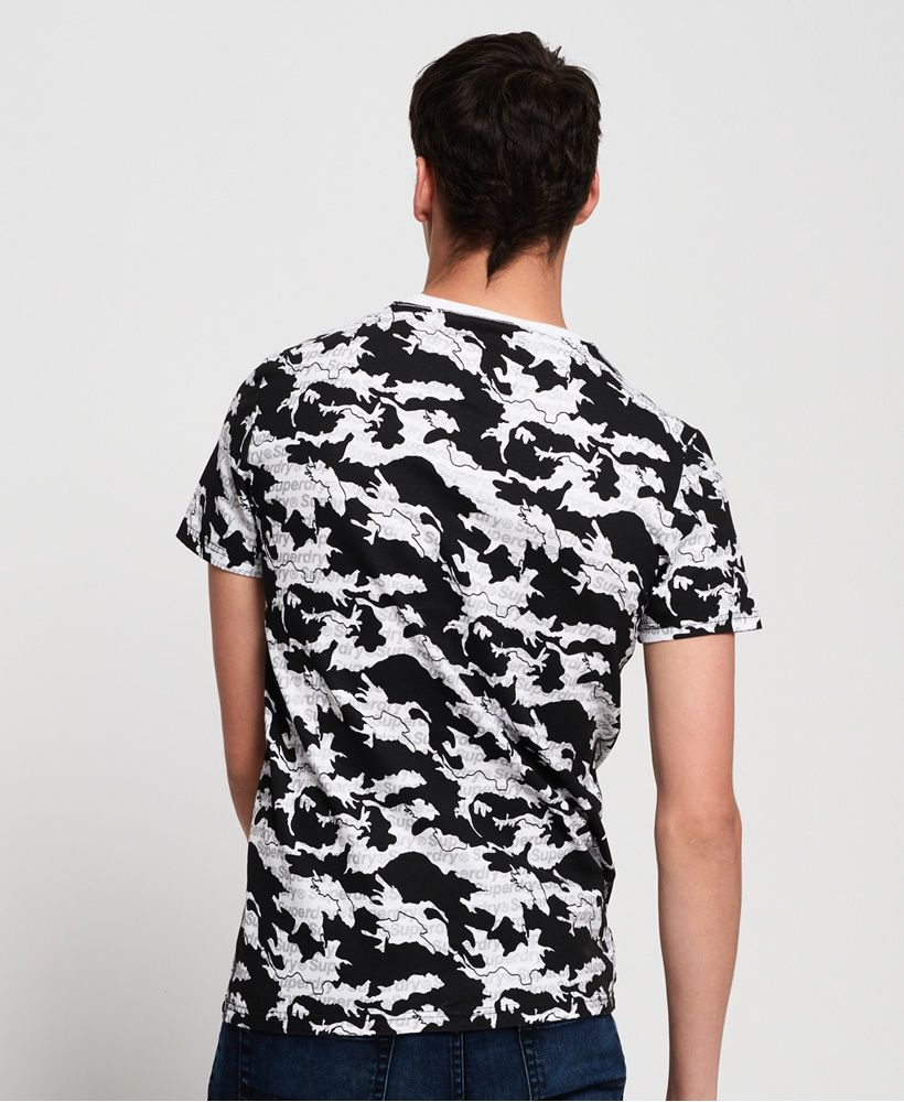 Superdry International Monochrome T-Shirt
