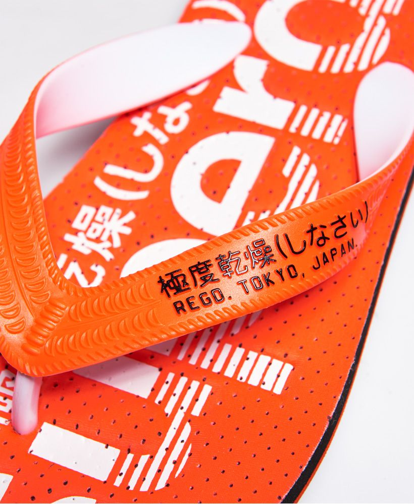 Superdry Scuba Perforated Flip Flops