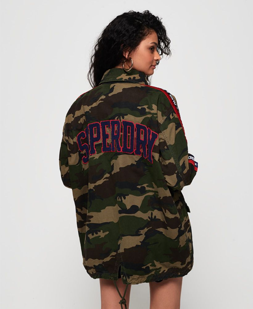 Superdry Lilith Oversized Rookie Shacket