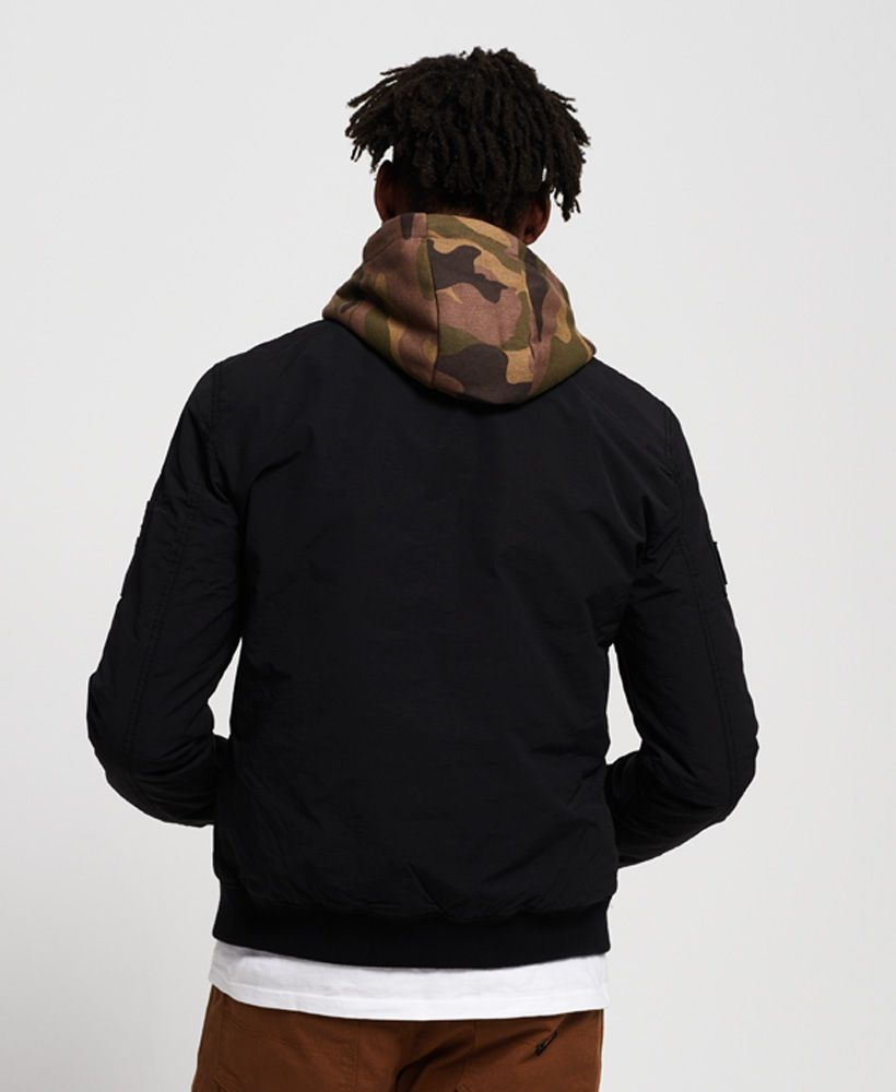 Superdry Hooded Air Corps Bomber Jacket