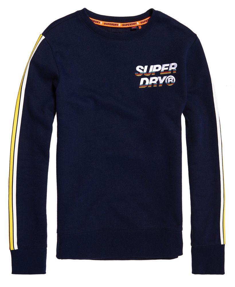 Superdry Cali Stripe Crew Sweatshirt