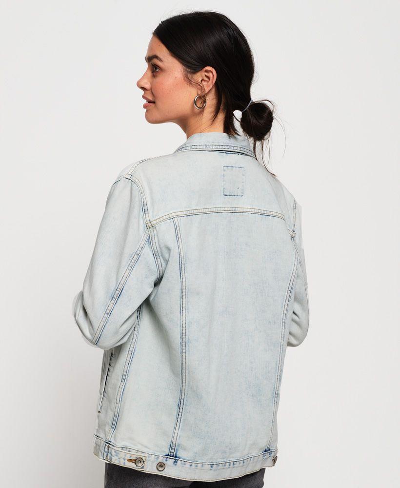 Superdry Denim Long Line Jacket
