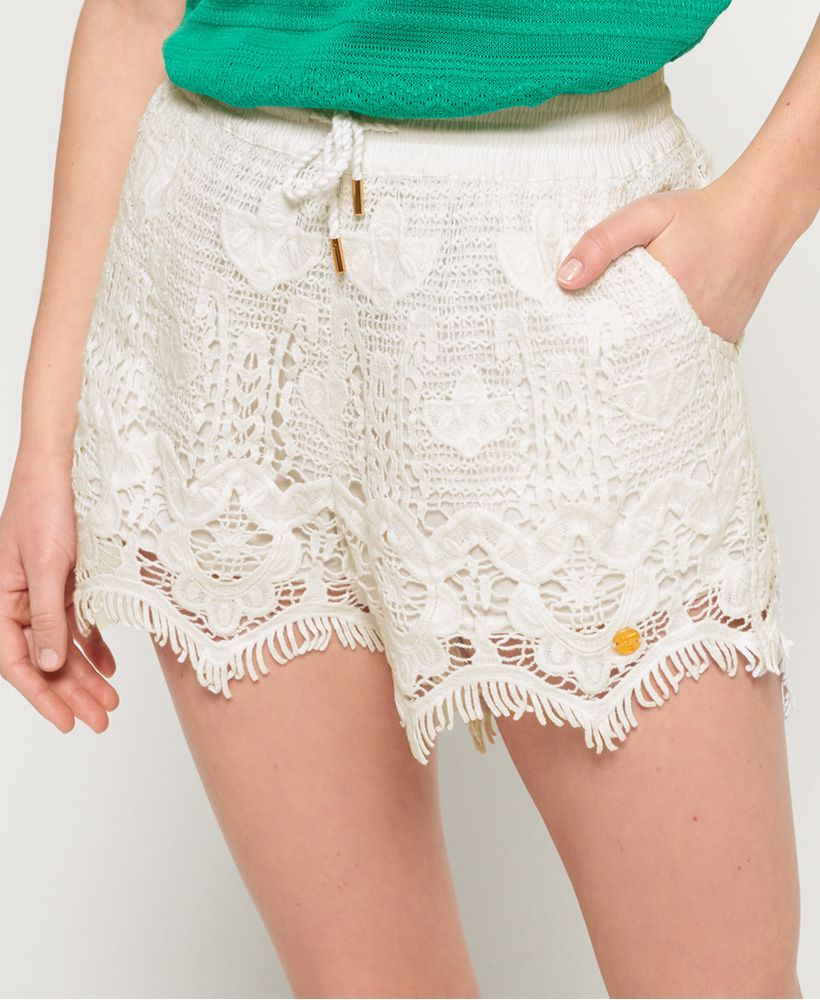 Superdry Mandy Lace Shorts