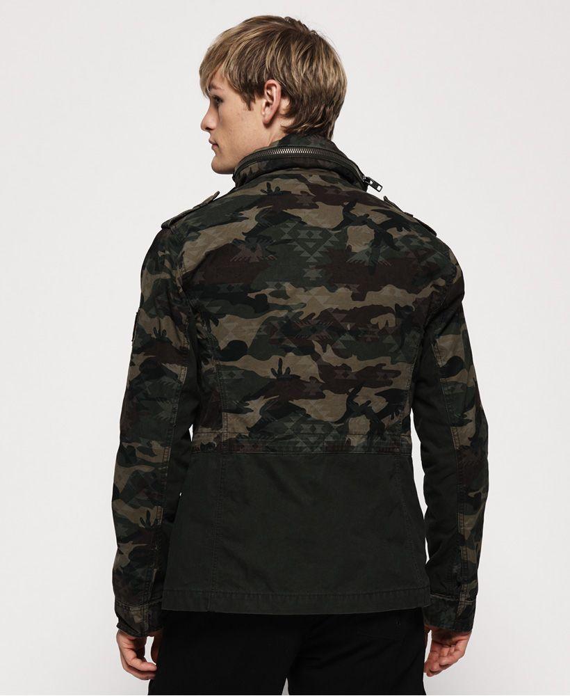 Superdry Mixed Rookie Pocket Jacket