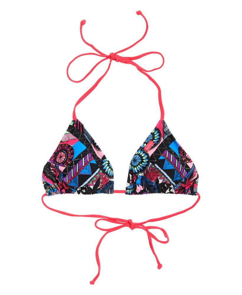 Superdry Aztec Craze Tri Bikini Top