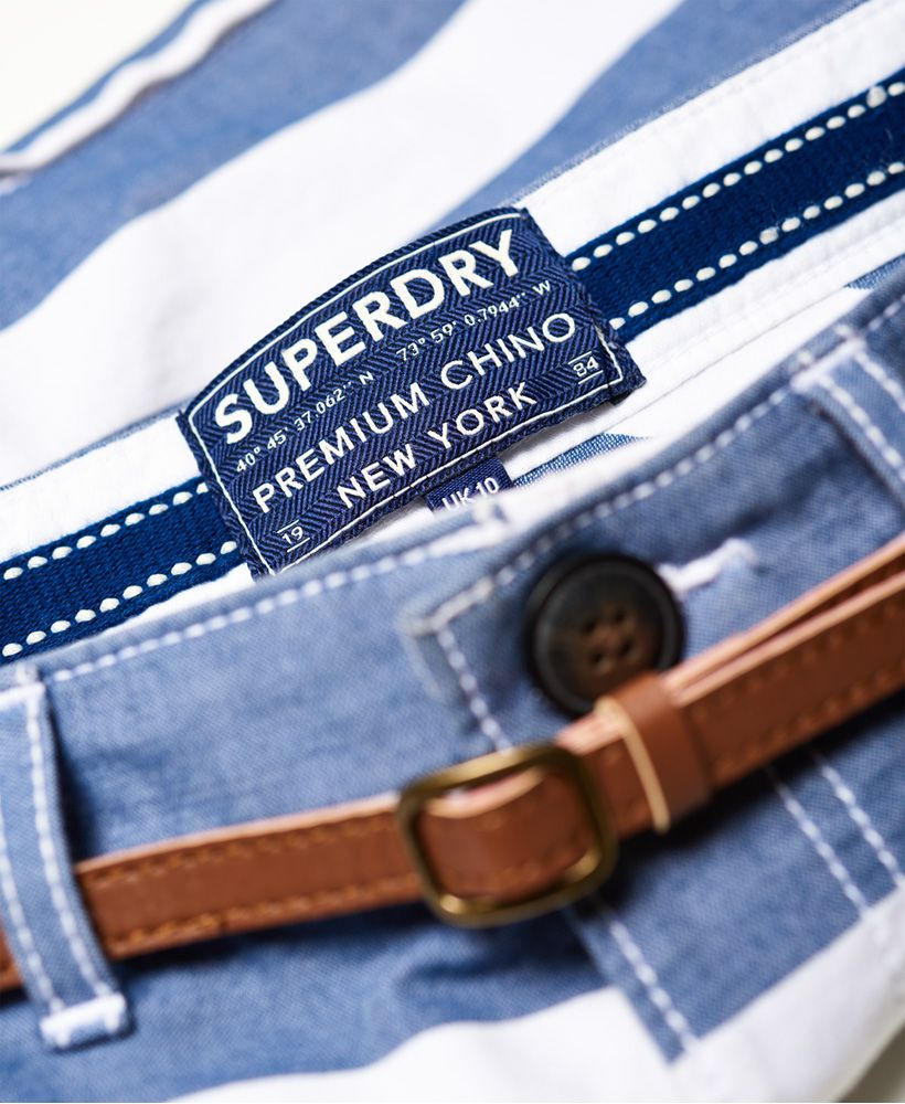 Superdry Stripe Chino Shorts